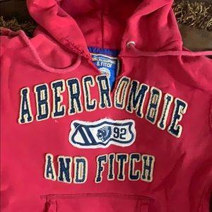 Abercrombie & Fitch men's medium red sweatshirt